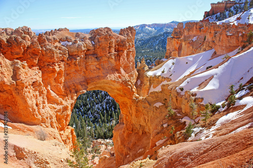 Canvas Print Natural Bridge, Bryce Canyon, Utah