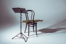 Music Stand For Notes And Saxo...