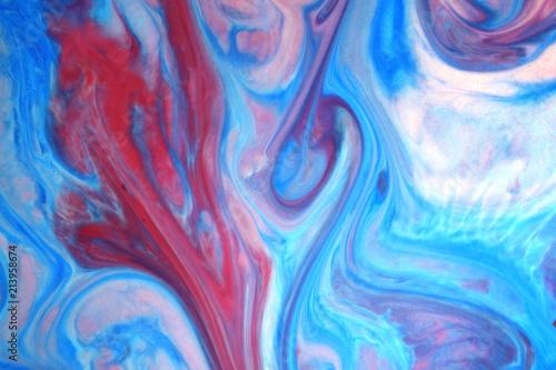 peinture abstraite arrière-plan texture Canvas Print