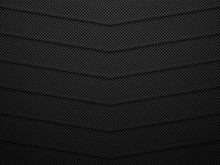Black Metal Texture Background. Abstract Vector Illustration