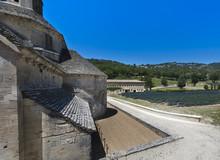 Abbey Notre-Dame De Senanque Near Gordes.Vaucluse, Provence Alpes Cote DAzur, France.