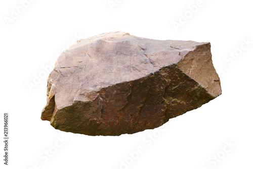 Photo rock isolated on white background
