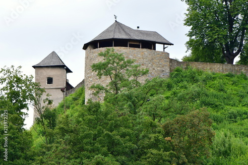 Photo  oldest castle in Czech republic,Brumov castle