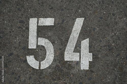 Fotografia  Asphalt Concrete Number 54