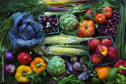 Foto op Plexiglas Eten Summer Produce