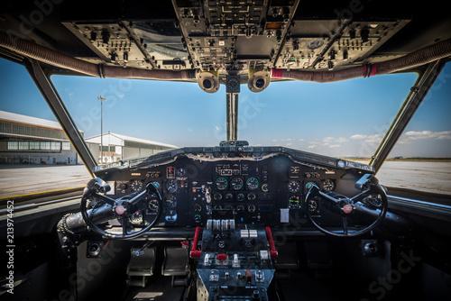 Obraz na plátně  Seaplane Canadair CL-215
