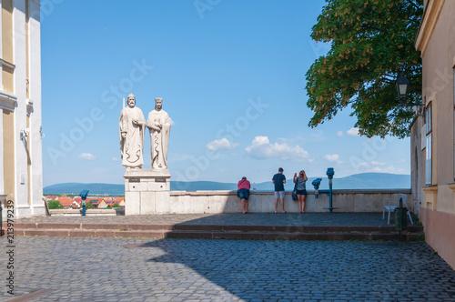 Fotografie, Obraz  Das erste ungarische Königspaar Stephan und Gisela