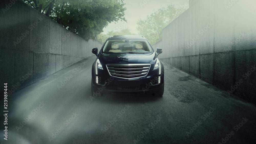 Fototapety, obrazy: Car in city