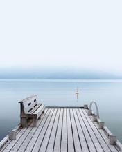 Misty Morning On Norheimsund V...
