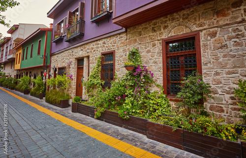 Streets of old town Kaleici - Antalya