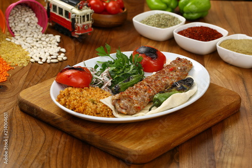 Photo Turkish Adana Kebab