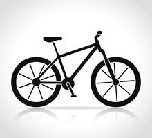Vector Mountain Bike Icon