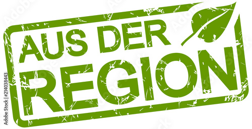green stamp with text from the region Wallpaper Mural