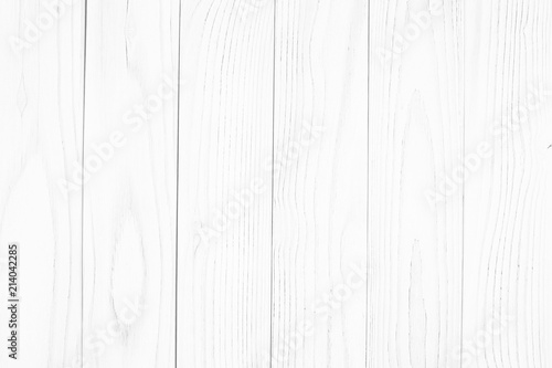Fototapeta white wood texture backgrounds. Abstract background, empty template. obraz