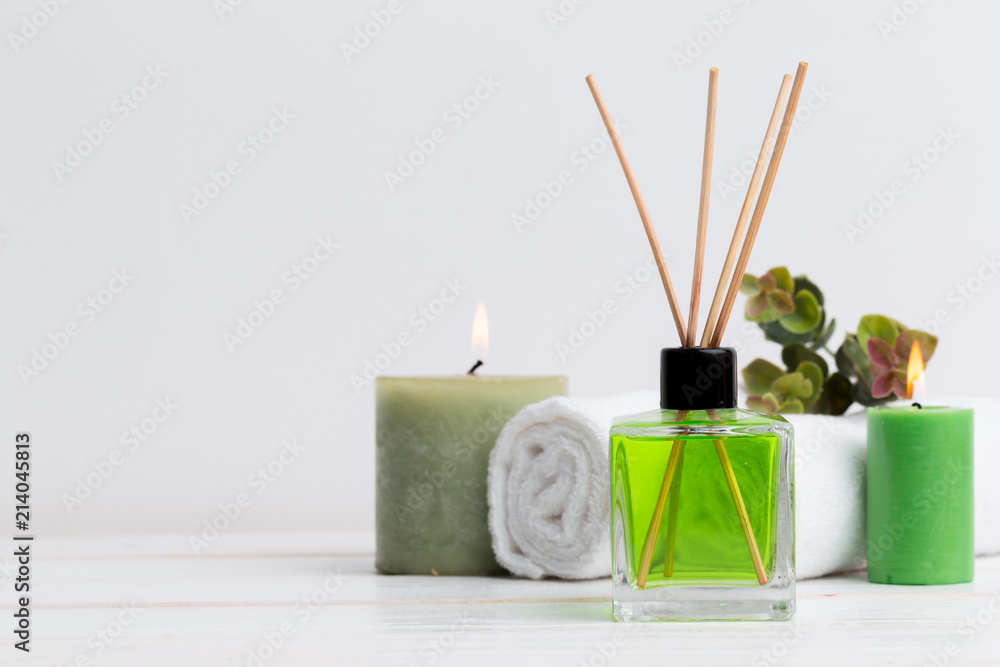 Fototapety, obrazy: air freshener sticks at home