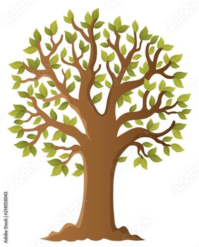 Deurstickers Voor kinderen Tree topic image 5