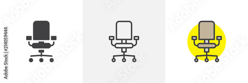 Obraz na plátně Office chair icon