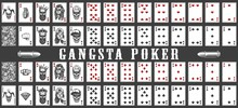 Deck Of Gangsta Playing Cards