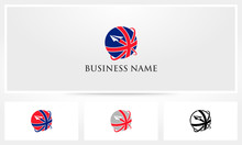 British UK Travel Union Jack Logo