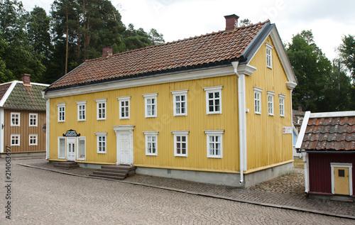 VIMMERBY, SWEDEN - June 19, 2018- Astrid Lindgren's World, Astrid Lindgrens Varld is a theme park Poster