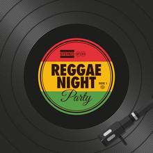 Poster, Flyer Reggae Night Par...