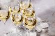 canvas print picture - Champagner Glas (Sekt)