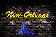 New Orleans Neon Jazz