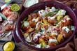 new Potato Salad with crispy bacon and sage