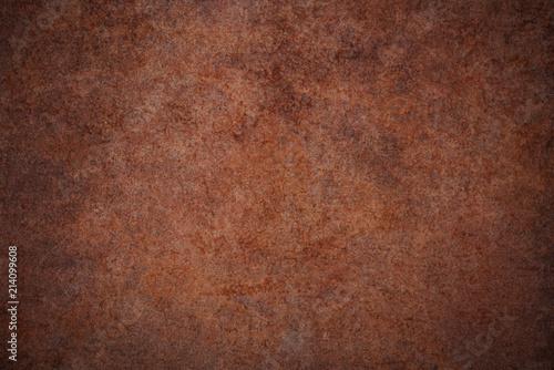 Fotografie, Obraz  質感のある茶色い茶色い石壁