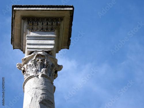 Fotografie, Obraz Rom, Korinthische Säule