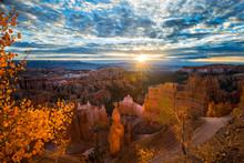 Sunset Point At Sunrise, Bryce Canyon