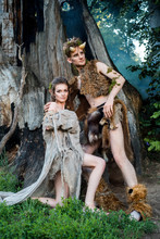 Enamored Elves. Beautiful Fair...
