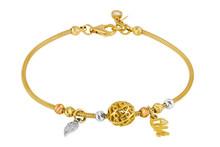 Female Gold Bracelet