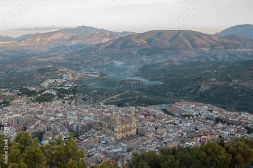 Panoramic view of Jaén
