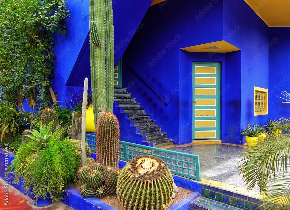 Fotografia Jardin à Marrackech au Maroc