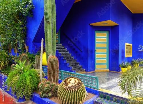 Jardin à Marrackech au Maroc