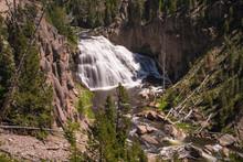 Gibbon Falls - Yellowstone National Park
