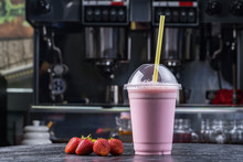 Strawberry Milk Shake To Take ...