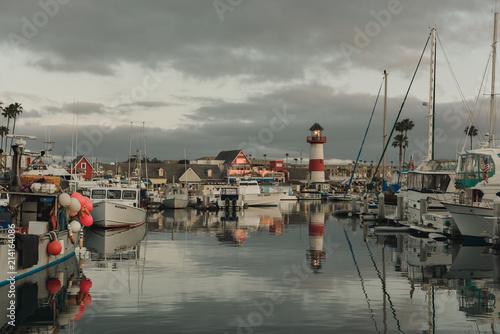 Photo Oceanside California harbor