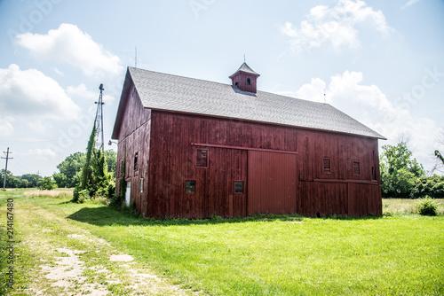 Fotografie, Obraz  old barn