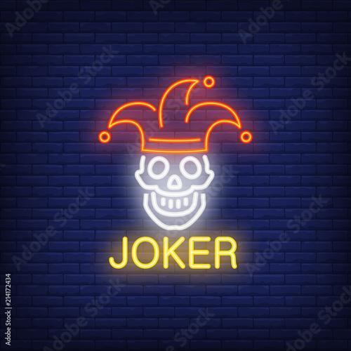 Photo Joker neon sign