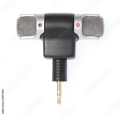 Fotografía  Mini stereo mic microphone 3