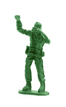 Plastic Soldier Toy Isolated O...