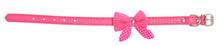 Pink Pet Collar With Polka Dot...