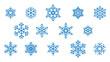 płatki śniegu wektor