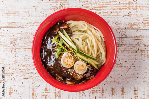 韓国ジャージャー麺 jajangmyeon Korean noodles