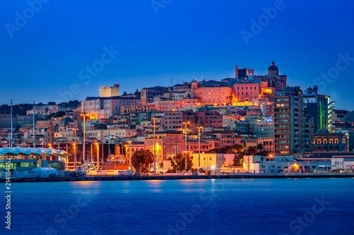 Obraz na plátně Cagliari dal porto