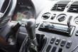 dashboard in the car