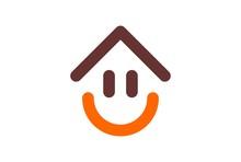 Home Smile Happy Logo Icon