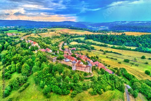 Photo Chateau de Belvoir, a medieval castle in the Doubs department of France
